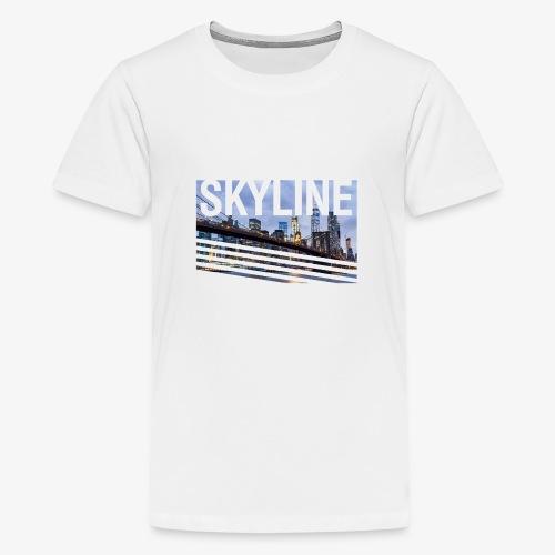 skyline - Camiseta premium adolescente