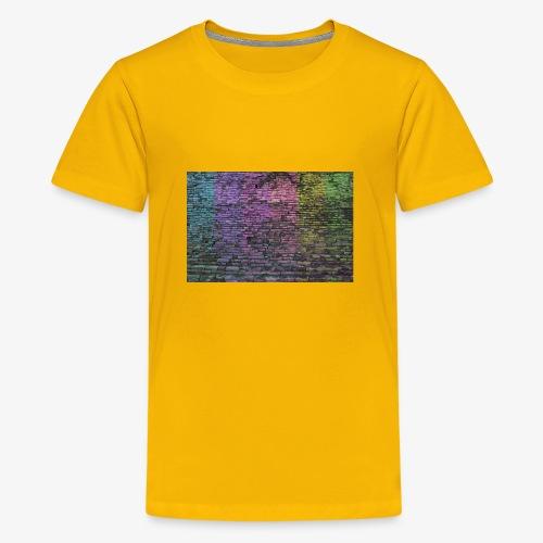 Regenbogenwand - Teenager Premium T-Shirt