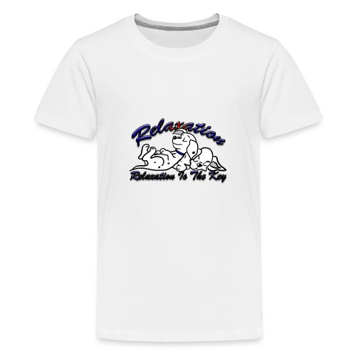 Relaxation Is The Key - Teenage Premium T-Shirt