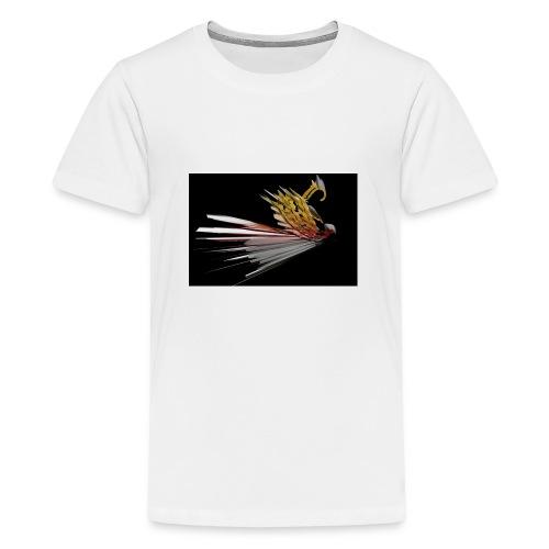 Abstract Bird - Teenage Premium T-Shirt