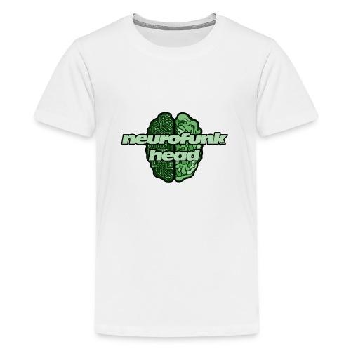 N4B Neurofunkhead Design - Maglietta Premium per ragazzi