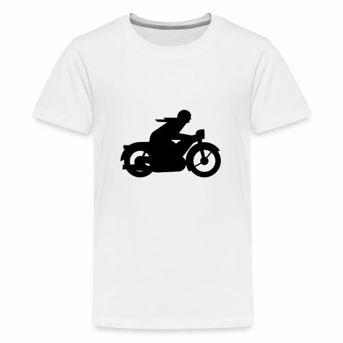 AWO driver silhouette - Teenage Premium T-Shirt