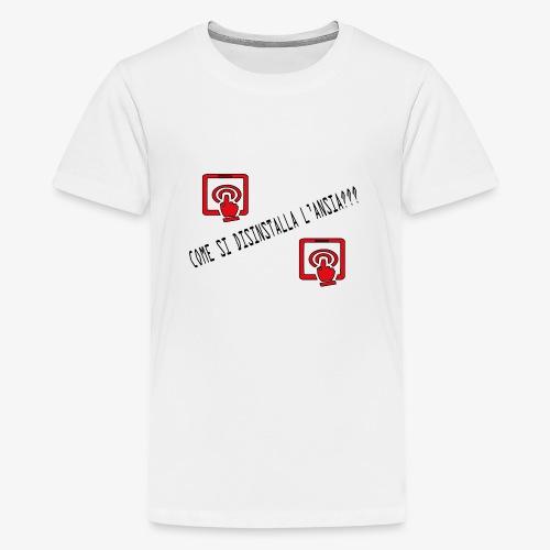 Ansia - Maglietta Premium per ragazzi