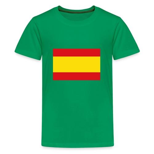 vlag van spanje - Teenager Premium T-shirt