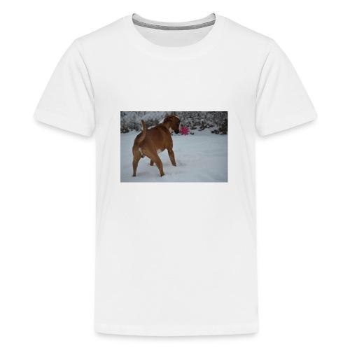 erster Schnee 158 JPG - Teenager Premium T-Shirt