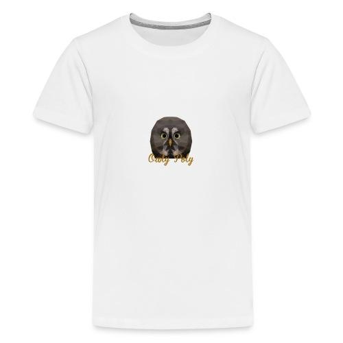 Owly Poly - T-shirt Premium Ado