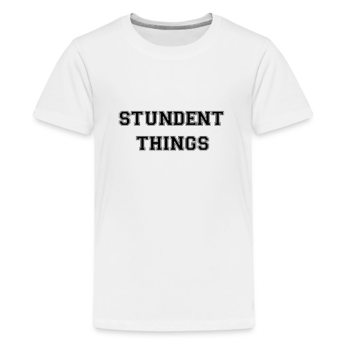 studentthings png - Teenager Premium T-Shirt