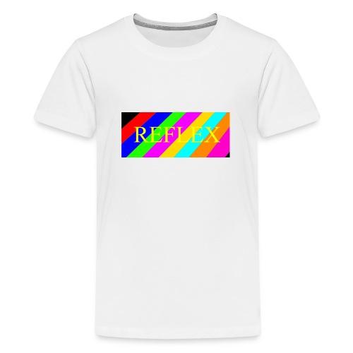 SVEIN HELGE reflex - Premium T-skjorte for tenåringer