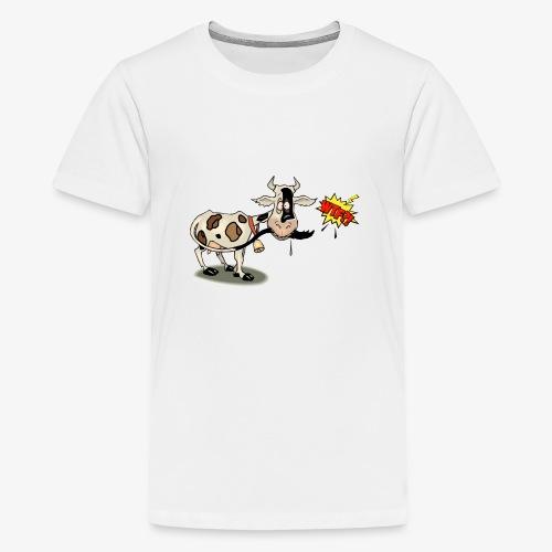 Vaquita - Camiseta premium adolescente