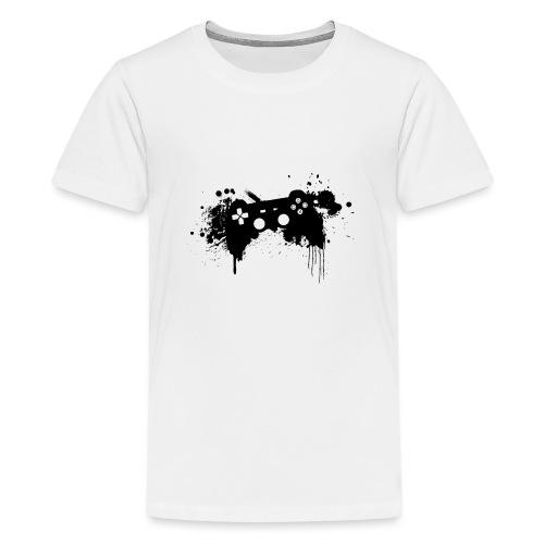 Speel harde controller - Teenager Premium T-shirt