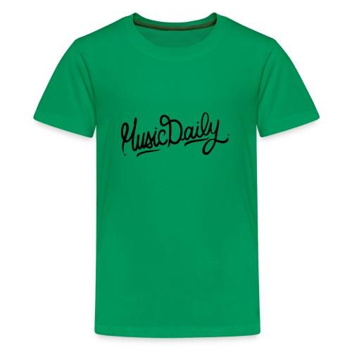 MusicDaily Logo - Teenager Premium T-shirt