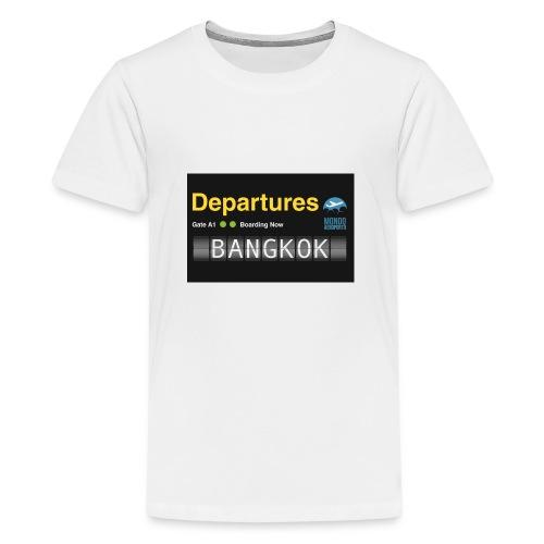 Departures BANGKOK jpg - Maglietta Premium per ragazzi
