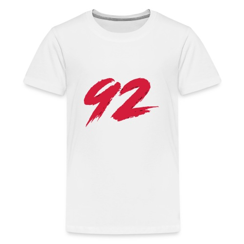 92 Logo 1 - Teenager Premium T-Shirt
