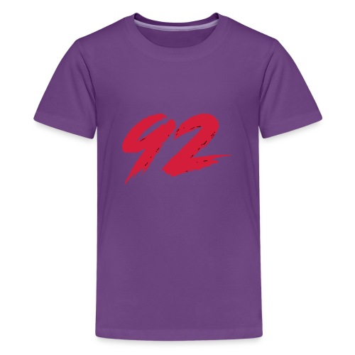 92 Logo 1 - Teenager Premium T-Shirt