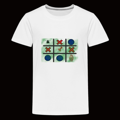 Tick, Tack, Toe (Joke Shirt) - Teenage Premium T-Shirt