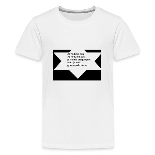 je ne pas - T-shirt Premium Ado