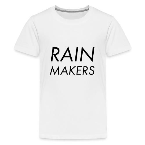 rainmakertext - Teinien premium t-paita