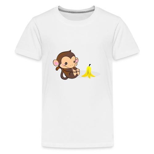 Scimmia Bubbles - Maglietta Premium per ragazzi
