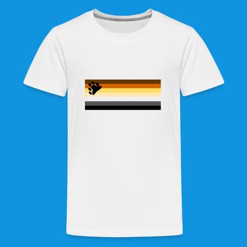 Bear Flag tank - Teenage Premium T-Shirt