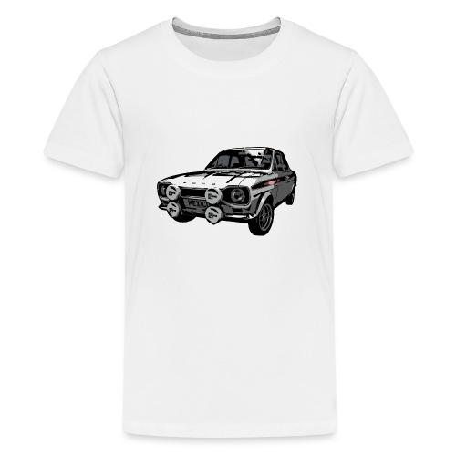 Mk1 Escort - Teenage Premium T-Shirt