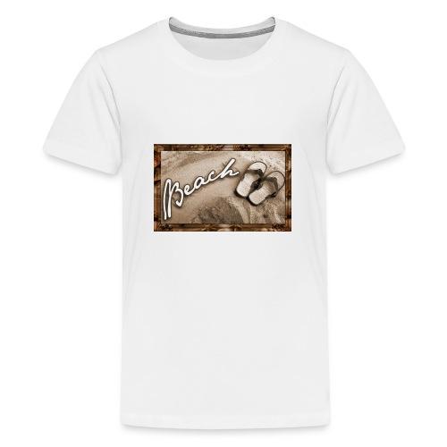 beach - T-shirt Premium Ado