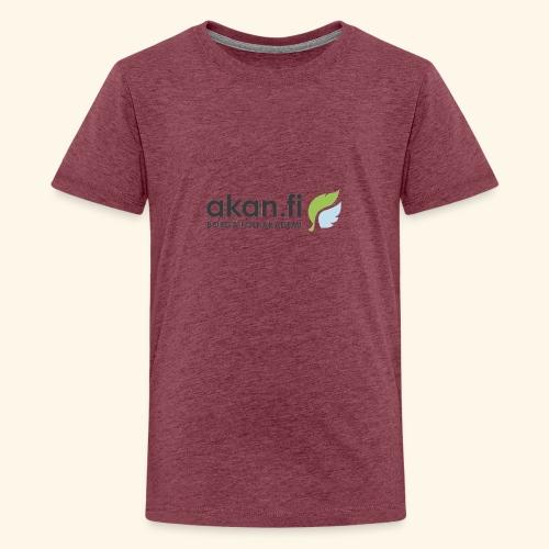 Akan Black - Teinien premium t-paita