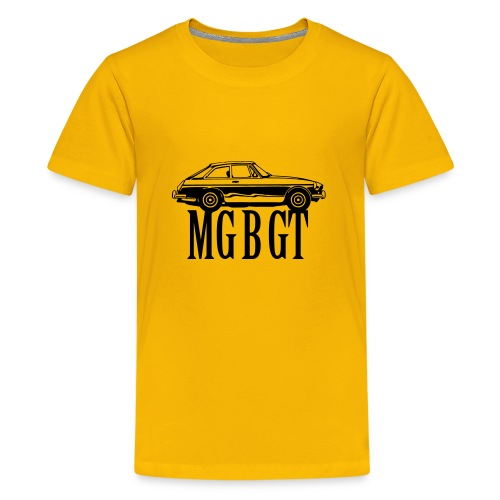 MG MGB GT - Autonaut.com - Teenage Premium T-Shirt