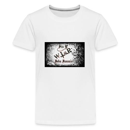 Six P & John Insanis WisR Huppari - Teinien premium t-paita