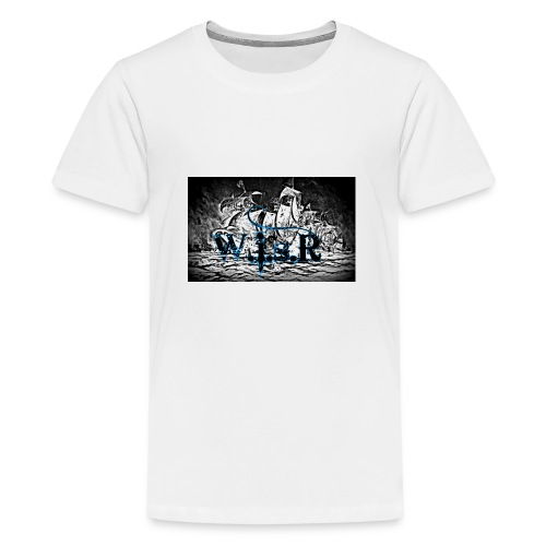 Naisten T-Paita - Teinien premium t-paita