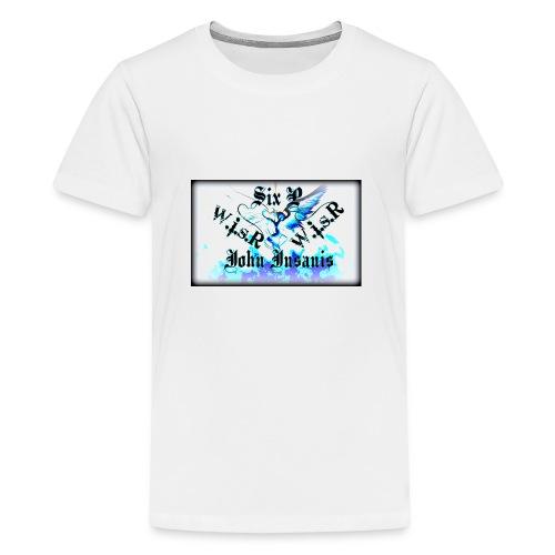 Six P&John Insains Deamon WisR - Teinien premium t-paita