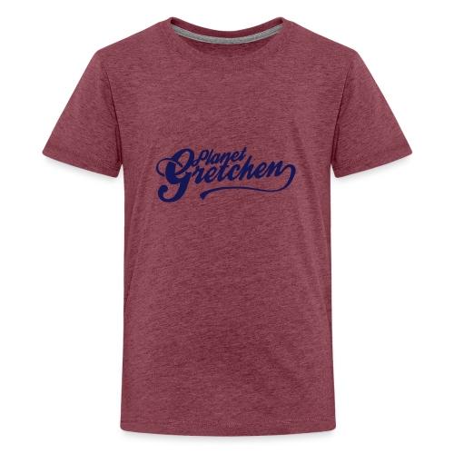 Planet Gretchen svart - Premium-T-shirt tonåring