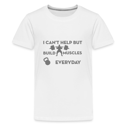 puissance-lift-weight - T-shirt Premium Ado