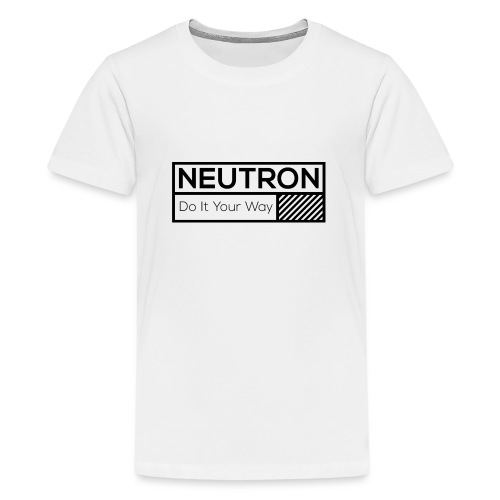 Neutron Vintage-Label - Teenager Premium T-Shirt