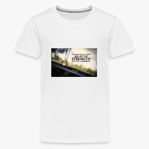 Amazing Inspirational Quote - Premium-T-shirt tonåring