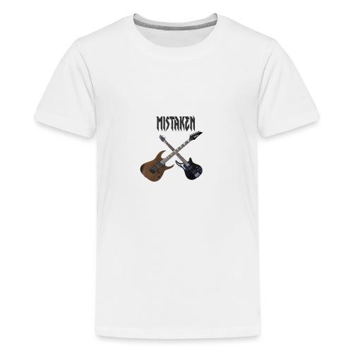 MISTAKEN bans - Teenage Premium T-Shirt