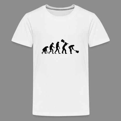 Evolution Rock - Camiseta premium adolescente