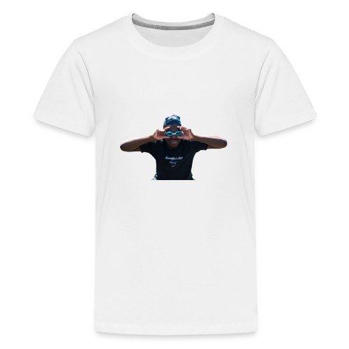 SUpreme can't see da haters - T-shirt Premium Ado
