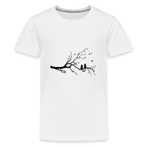 Cat Love - Teenager Premium T-Shirt