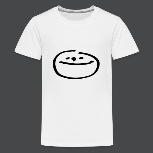 mondgesicht - Teenager Premium T-Shirt