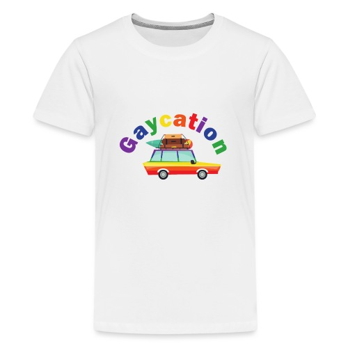 Gaycation | LGBT | Pride - Teenager Premium T-Shirt