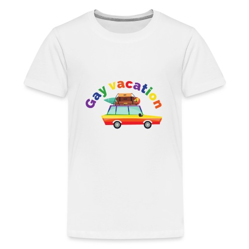 Gay Vacation | LGBT | Pride - Teenager Premium T-Shirt