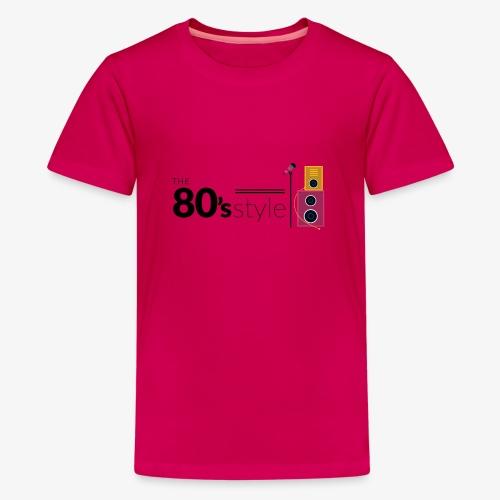 80s - Camiseta premium adolescente