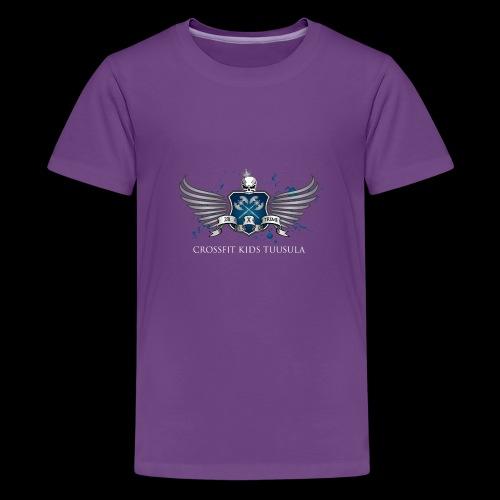 CrossFit kids Tuusula - Teinien premium t-paita