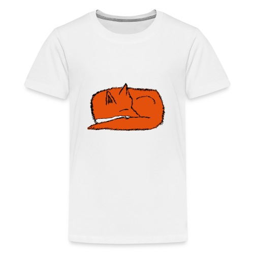 SleepingFox - Teenage Premium T-Shirt