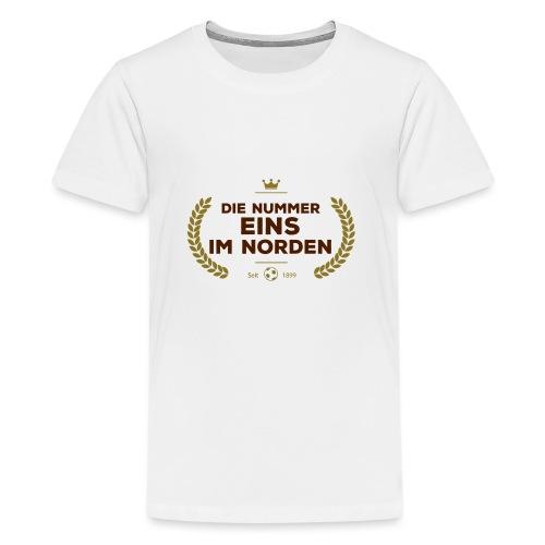 No1 Lorbeerkranz - Teenager Premium T-Shirt