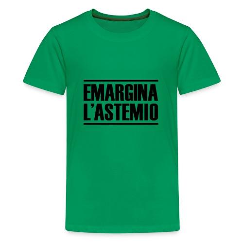 emargina l'astemio - Maglietta Premium per ragazzi