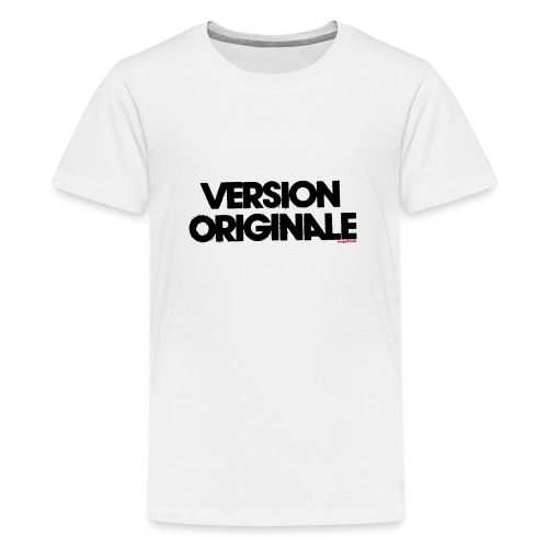 Version Original - T-shirt Premium Ado