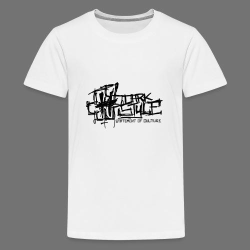 Dark Style - Statement Of Culture (black) - Teenage Premium T-Shirt