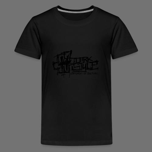 Tumma Style - Statement of Culture (musta) - Teinien premium t-paita