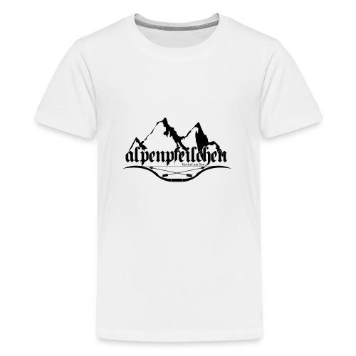 Alpenpfeilchen - Logo - Teenager Premium T-Shirt